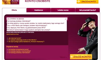 Wirtualny doradca - Alior Bank