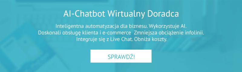 AI-Chatbot wirtualny doradca