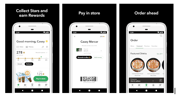 Starbucks: Voice Assistant to support shopping