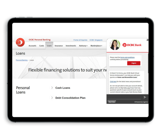 Emma is an example from the frontiers financial and e-commerce Chatbot usage